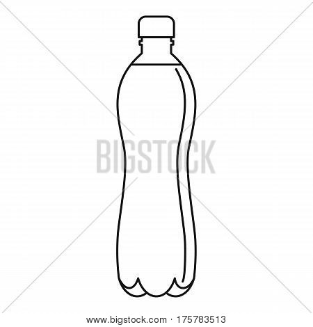 Water bottle icon. Outline illustration of water bottle vector icon for web