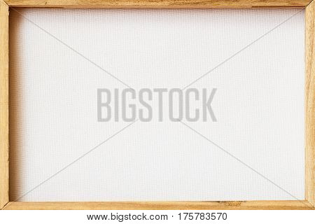 Canvas frame Scratched back reverse side for framed painting or image on wooden stretcher. Abstract background for creative ideas. For backdrop, substrate, composition use. With place for your text