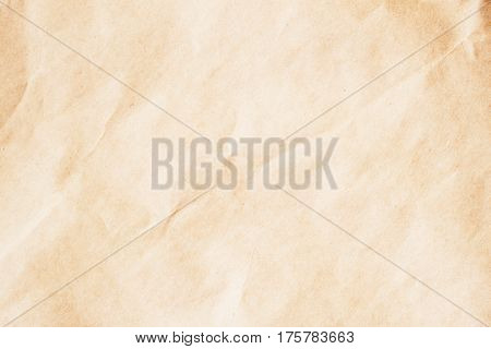 Texture vintage paper, cardboard background, beige for design with copy space text or image. Recyclable material