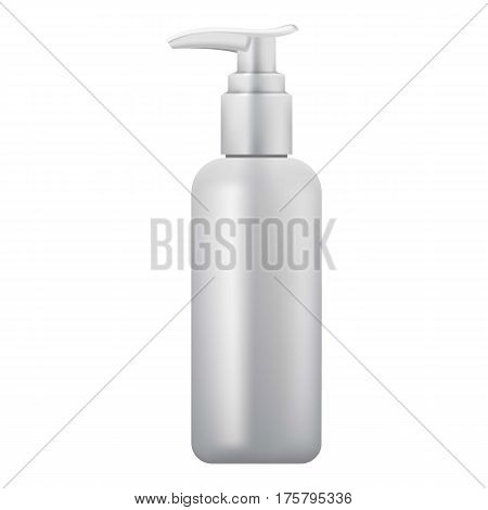 Soap tube icon. Realistic illustration of soap tube vector icon for web