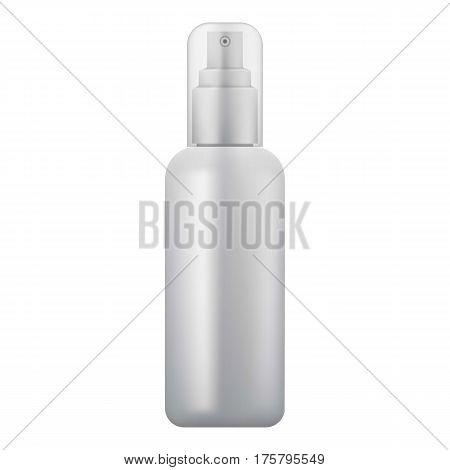 Cosmetic spray icon. Realistic illustration of cosmetic spray vector icon for web