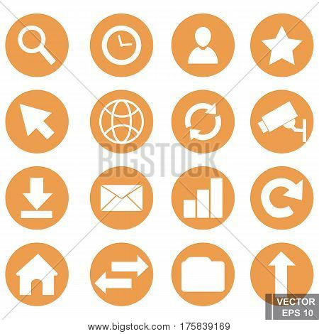 Set Of Icons. Refresh Home. Different. For Your Design.