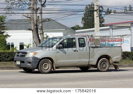 Private Pickup Car, Toyota Hilux.