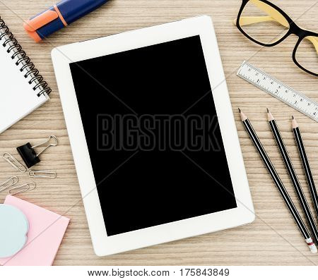 Tablet Computer And Stationery