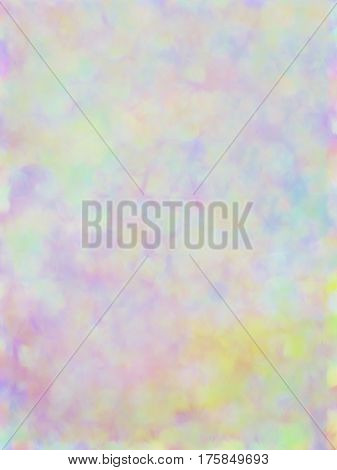 Vector EPS10 colorful spots. Abstract background with iridescent gradient. Colorful noise, special effect.  Colorful shade. Visual illusion of oil painting. Not trace image, include mesh gradient only