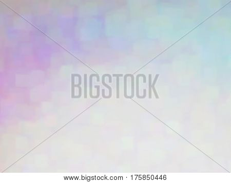 Vector EPS10 multicolor spots. Abstract background with iridescent gradient. Blurry colored noise, special effect. Visual illusion of oil painting. Not trace image, include mesh gradient only