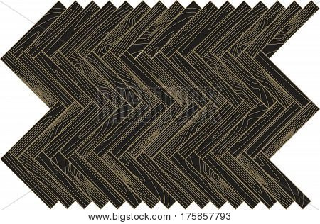 Brown Wood Parquet. Abstract Background