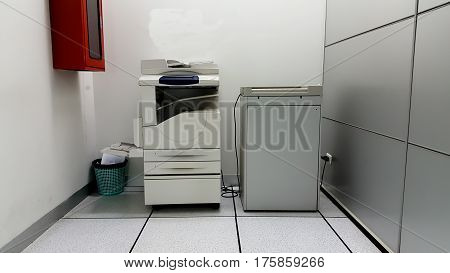 Photocopier machines and all in one .