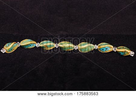 A strand of beads that will be used to craft various types of jewelry - 34