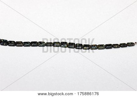 A strand of beads that will be used to craft various types of jewelry - 11