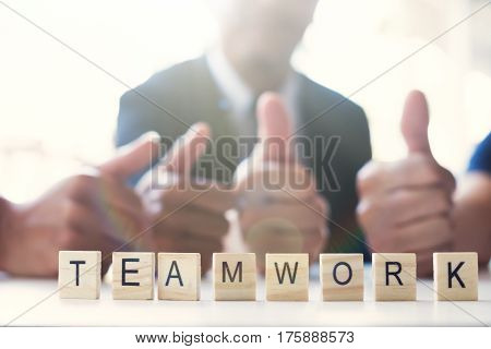 Business Teamwork Concept.