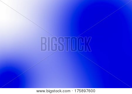 Abstract blue blur color use for background