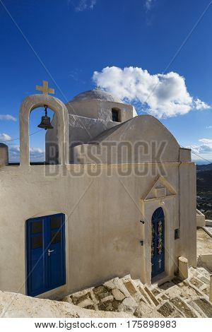 One of many churches of Chora on Serifos island in Greece.