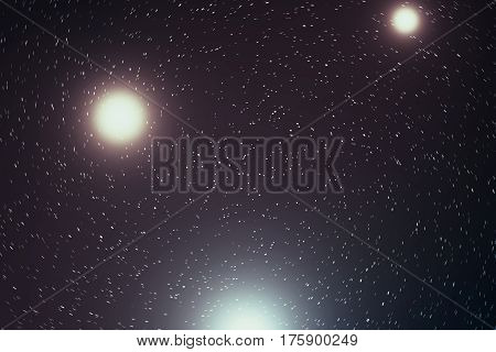 Universe filled with stars, nebula and galaxy, space dust in the universe, beautiful background with stars. 3d rendering