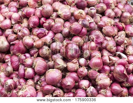 Texture Of Red Pearl Onions