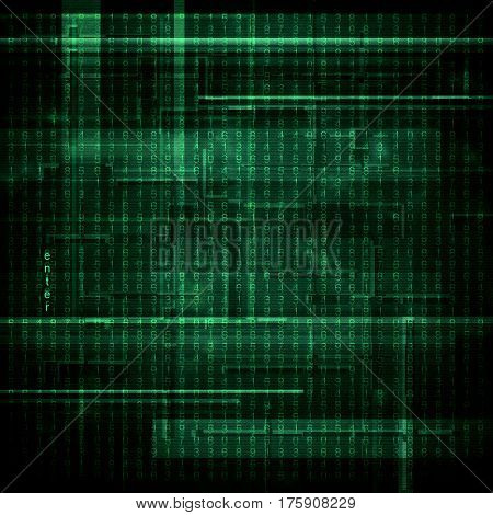 Abstract green background in style the cyberpunk