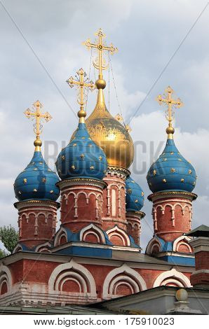 Cathedral of the icon of the Mother of God the Sign. Moscow, Russia