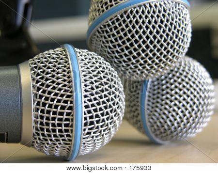 Three Microphones