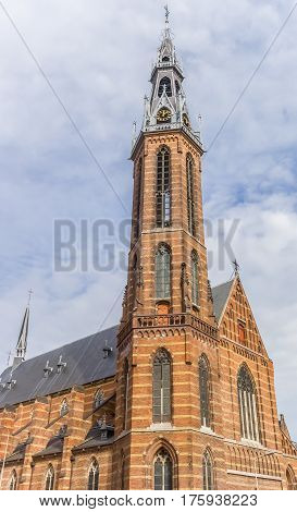 St Jozef cathedral in the historical center of Groningen Netherlands