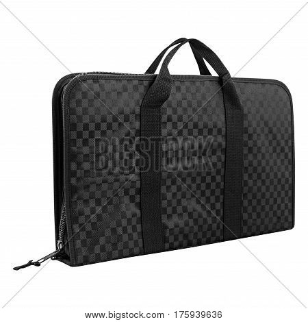 case black on a isolated white background