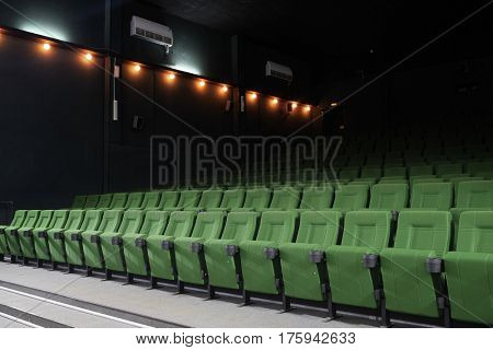 Interior of a cinema auditorium