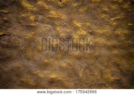Old dilapidated painted surface. Art background _