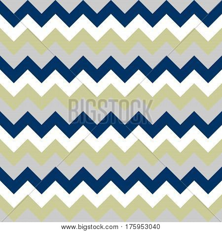 Chevron pattern seamless vector arrows geometric design colorful grey beige lilac naval blue