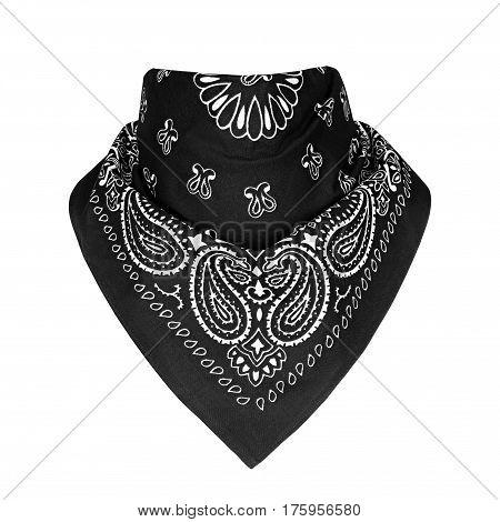 bandana, Pattern, on a isolated white background