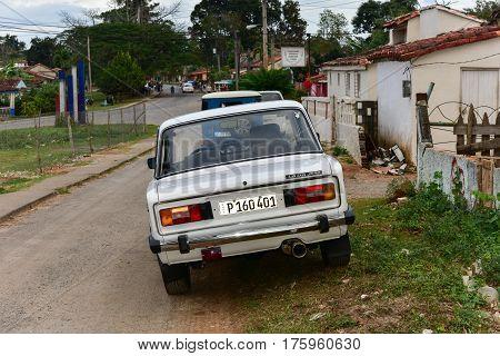Lada Car - Vinales Valley, Cuba