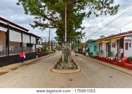 Downtown Vinales, Cuba