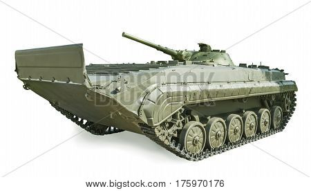 Soviet Infantry Fighting Vehicle Bmp-1, Adopted In 1966