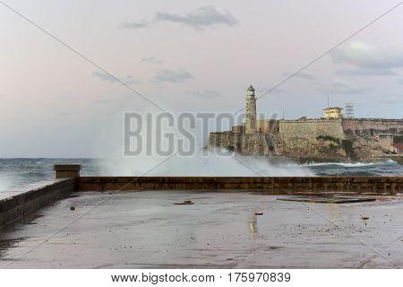 Castillo De Los Tres Reyes Del Morro