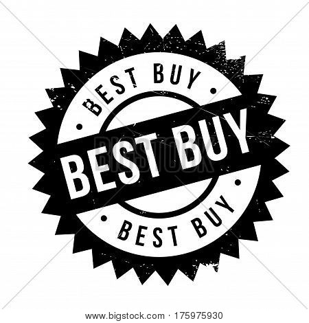 Best buy stamp. Grunge design with dust scratches. Effects can be easily removed for a clean, crisp look. Color is easily changed.