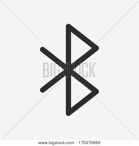 Bluetooth Vector Icon