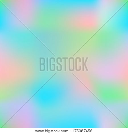 Colorful gradient mesh with pink aqua blue and turquoise. Candy colored square vector background. Neon colors mesh. Colorful seamless pattern tile. Bright colored seamless background swatch