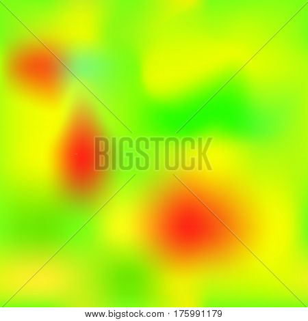 Vibrant gradient mesh with yellow red green colors. Bright colored square vector background. Neon colors mesh. Colorful seamless pattern tile. Bright colored seamless background swatch