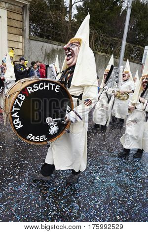 Basel (switzerland) - Carnival 2017