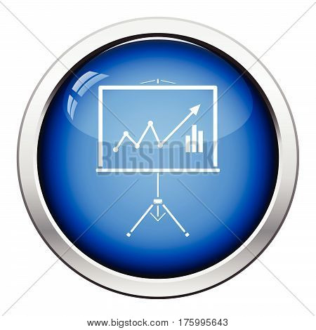 Analytics Stand Icon