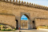 Bab Chems, a gate of Fes - Morocco poster