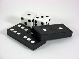 Checkers And  Dice