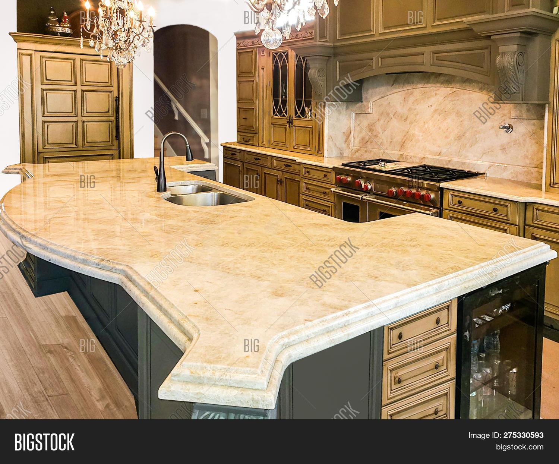 Beautiful Kitchen Image Photo Free Trial Bigstock