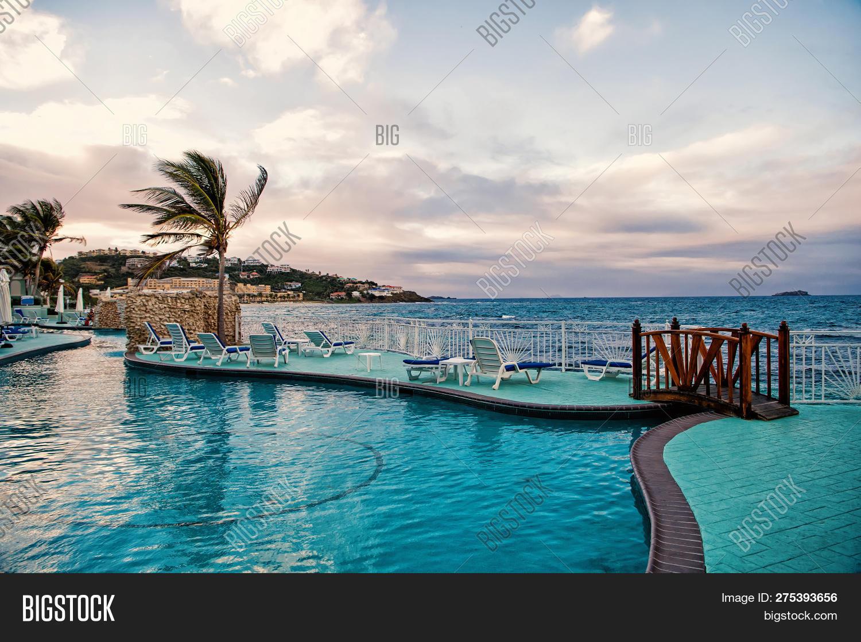 Swimming Pool Blue Image & Photo (Free Trial)   Bigstock