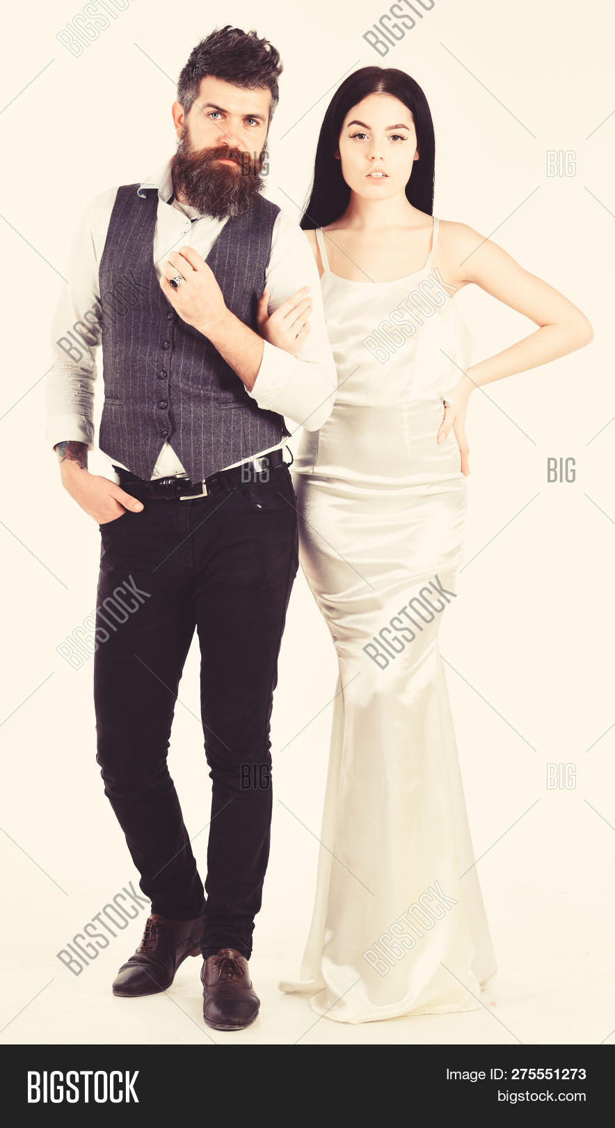 Bearded Hipster Bride Image Photo Free Trial Bigstock