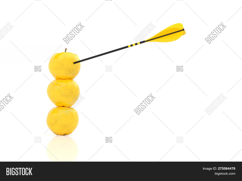 Three Yellow Apples Image & Photo (Free Trial) | Bigstock