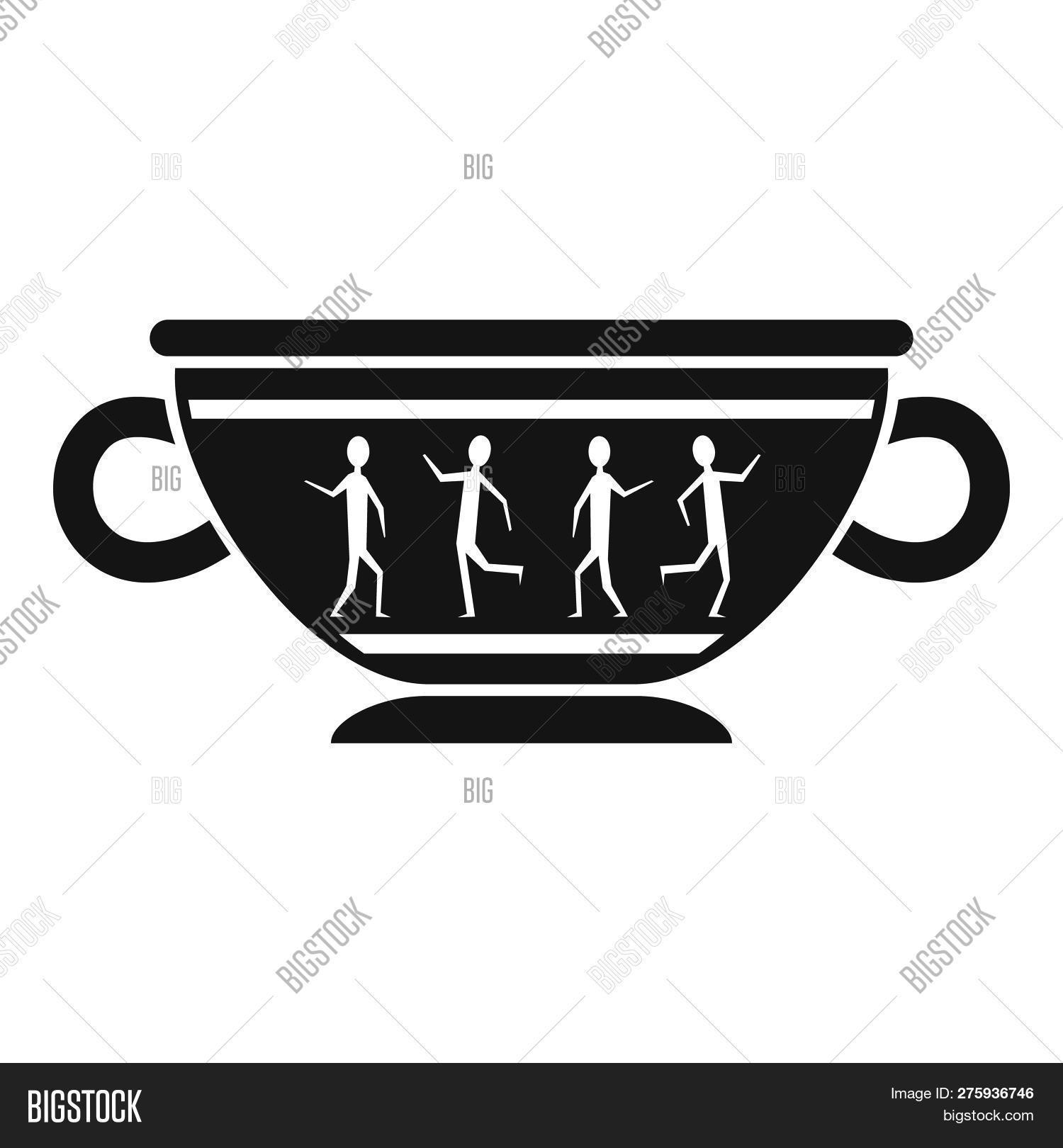 Greek Ancient Bowl Image Photo Free Trial Bigstock
