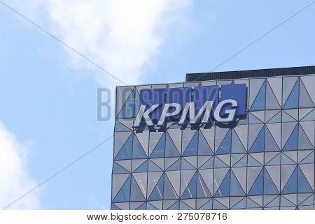 Melbourne Australia - November 30, 2018: Kpmg Auditor Company