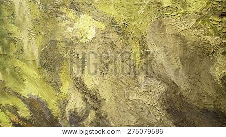 Abstract Painting Art Textured Background. Watercolor Backdrop. Oil Painting Abstract Brushstrokes O