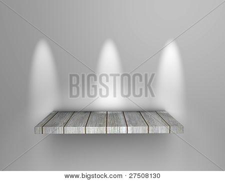 Art Display Shelf