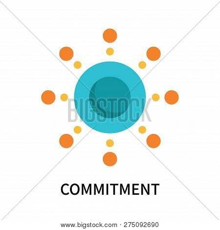 Commitment Icon Isolated On White Background. Commitment Icon Simple Sign. Commitment Icon Trendy An