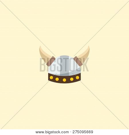 Barbarian Icon Flat Element. Vector Illustration Of Barbarian Icon Flat Isolated On Clean Background